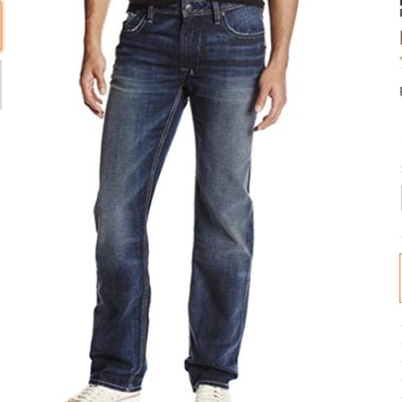 Buffalo David Bitton Mens Driven X Straight-Leg Jean